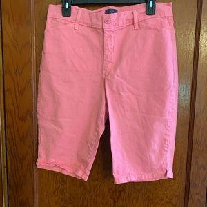 NYDJ Lift tuck technology Bermuda shorts size 10